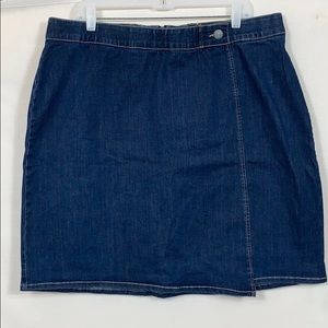 CJ Banks Denim Skirt 18W